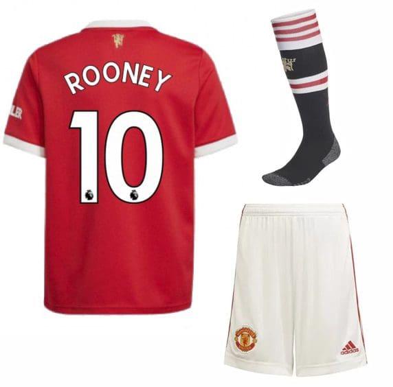 Футбольная форма Руни 10 Манчестер Юнайтед 2022 с гетрами