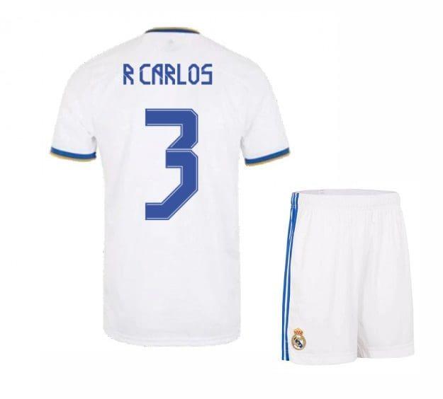 Футбольная форма Р Карлос 3 Реал Мадрид 2021-2022