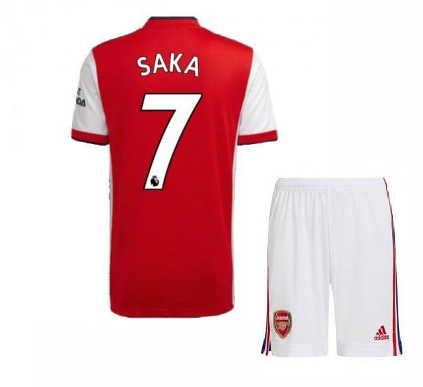 Футбольная форма Сака 7 Арсенал 2021-2022