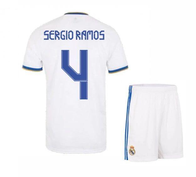 Футбольная форма Серхио Рамос 4 Реал Мадрид 2021-2022