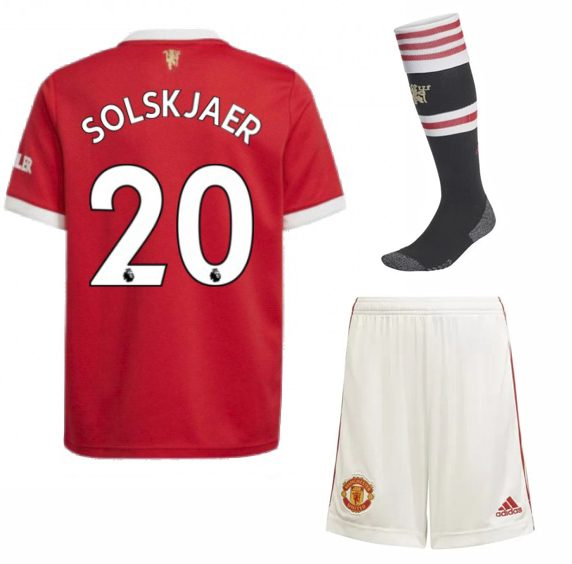 Футбольная форма Сульшер 20 Манчестер Юнайтед 2022 с гетрами