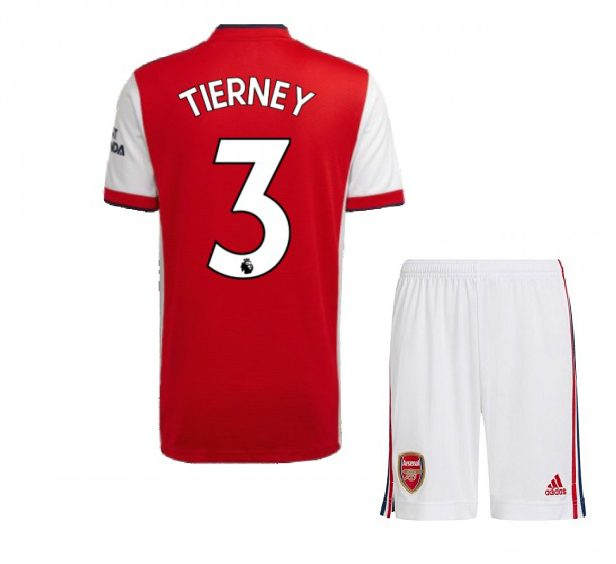 Футбольная форма Тирни 3 Арсенал 2021-2022