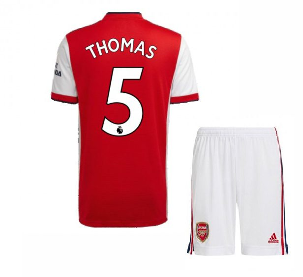 Футбольная форма Томас 5 Арсенал 2021-2022