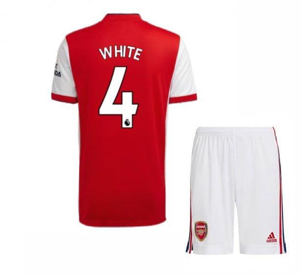 Футбольная форма Уайт 4 Арсенал 2021-2022