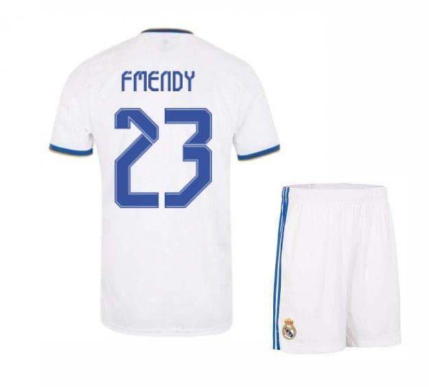 Футбольная форма Ф Менди 23 Реал Мадрид 2021-2022