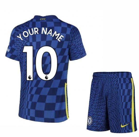 Футбольная форма Челси 2021-2022 с именем и номером