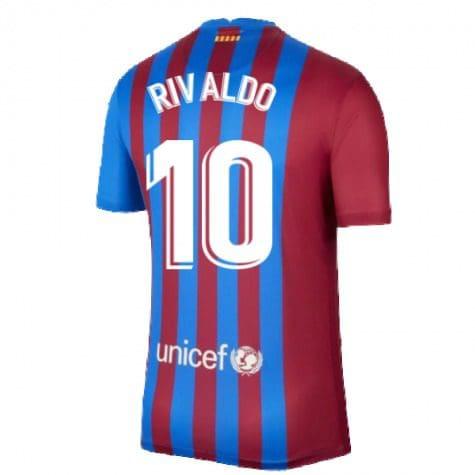 Футболка Ривалдо 10 Барселона 2021-2022