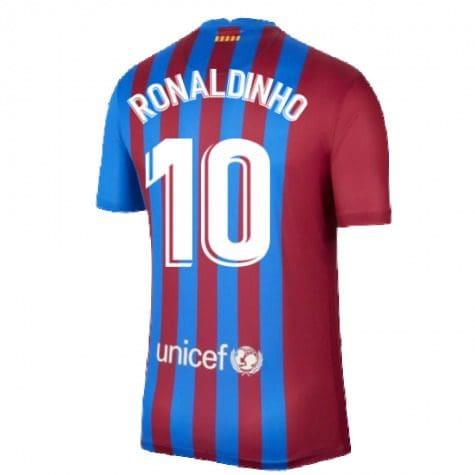 Футболка Роналдиньо 10 Барселона 2021-2022