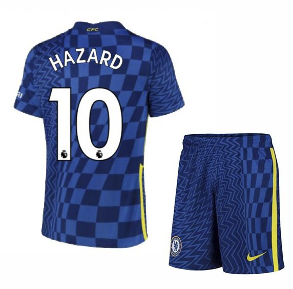 Футбольная форма Азар 10 Челси 2021-2022