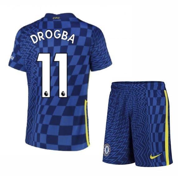 Футбольная форма Дрогба 11 Челси 2021-2022