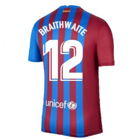 Футболка Брейтуэйт 12 Барселона 2021-2022