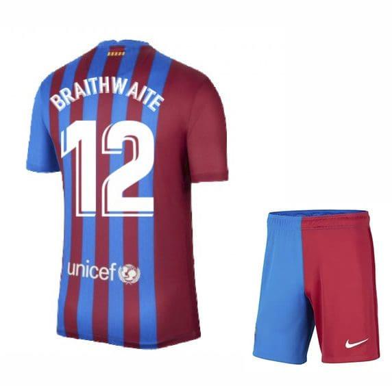 Футбольная форма Брейтуэйт 12 Барселона 2021-2022