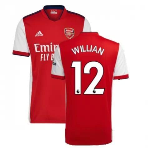 Футболка Виллиан 12 Арсенал 2021-2022