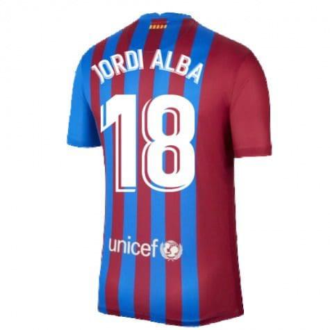 Футболка Жорди Альба 18 Барселона 2021-2022