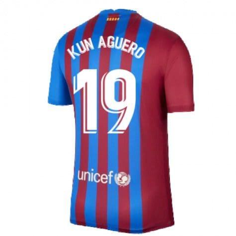 Футболка Агуэро 19 Барселона 2021-2022