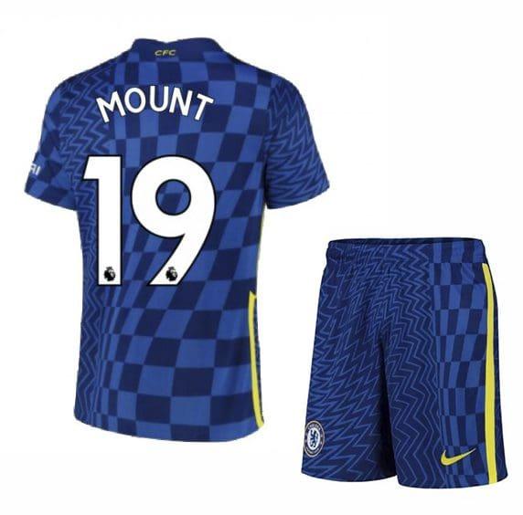 Футбольная форма Маунт 19 Челси 2021-2022