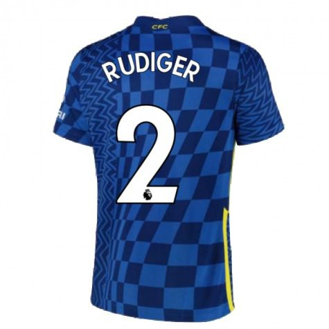Футболка Рюдигер 2 Челси 2021-2022