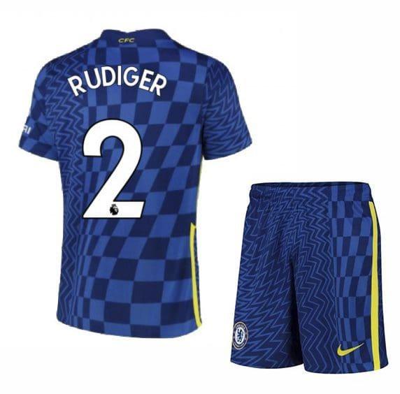Футбольная форма Рюдигер 2 Челси 2021-2022
