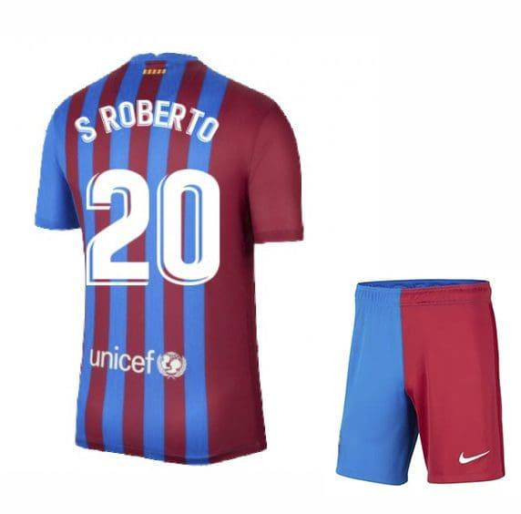 Футбольная форма С Роберто 20 Барселона 2021-2022