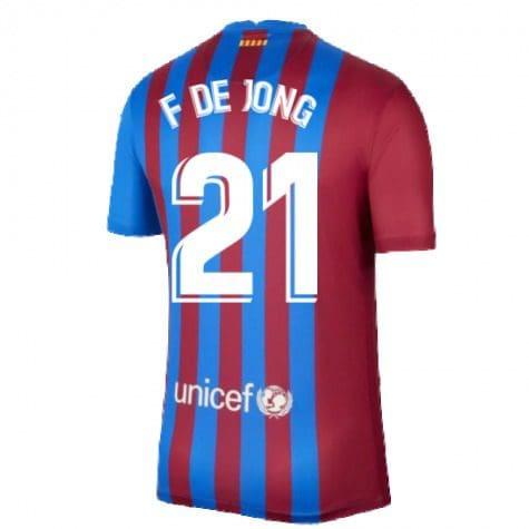 Футболка Френки де Йонг 21 Барселона 2021-2022