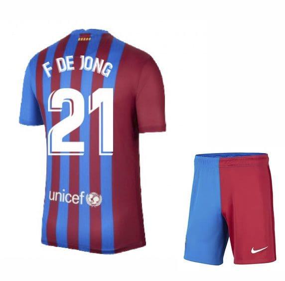 Футбольная форма Френки де Йонг 21 Барселона 2021-2022