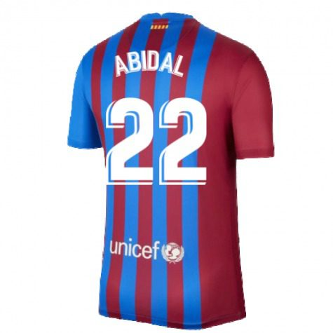 Футболка Абидаль 22 Барселона 2021-2022