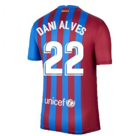 Футболка Даниэл Алвес 22 Барселона 2021-2022