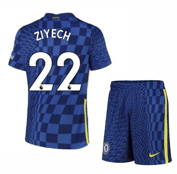 Футбольная форма Зиеш 22 Челси 2021-2022