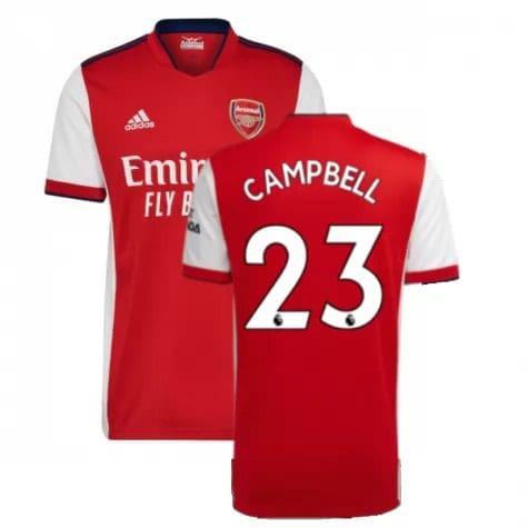 Футболка Кэмпбелл 23 Арсенал 2021-2022