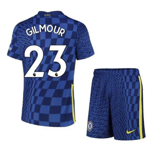 Футбольная форма Гилмор 23 Челси 2021-2022