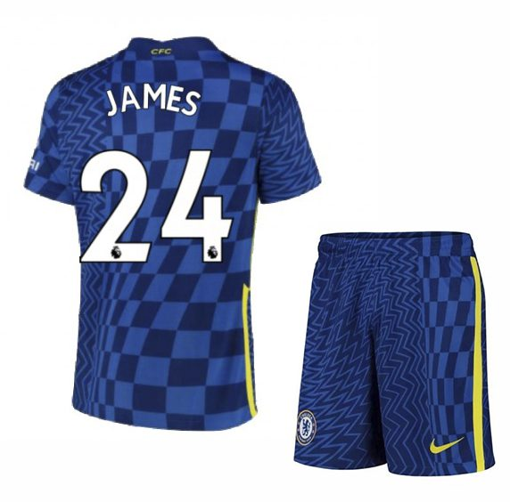 Футбольная форма Джеймс 24 Челси 2021-2022