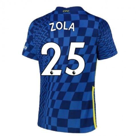 Футболка Дзола 25 Челси 2021-2022