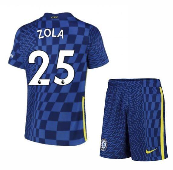 Футбольная форма Дзола 25 Челси 2021-2022
