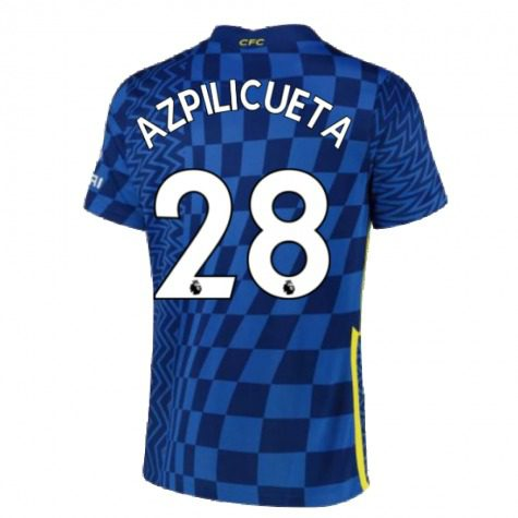 Футболка Аспиликуэта 28 Челси 2021-2022