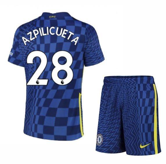 Футбольная форма Аспиликуэта 28 Челси 2021-2022