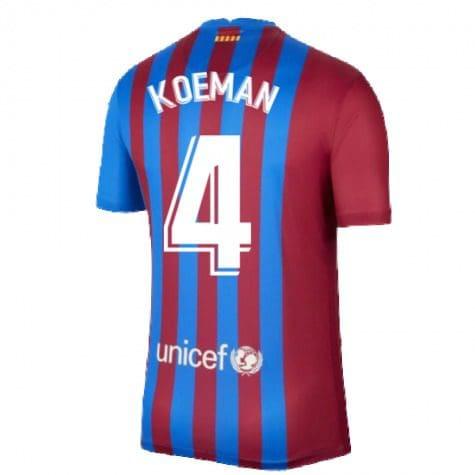 Футболка Куман 4 Барселона 2021-2022