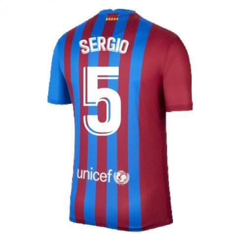 Футболка Серхио 5 Барселона 2021-2022