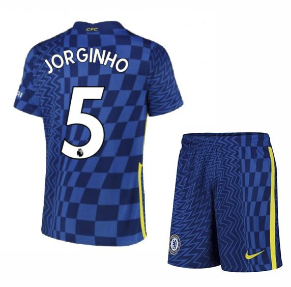 Футбольная форма Жоржиньо 5 Челси 2021-2022