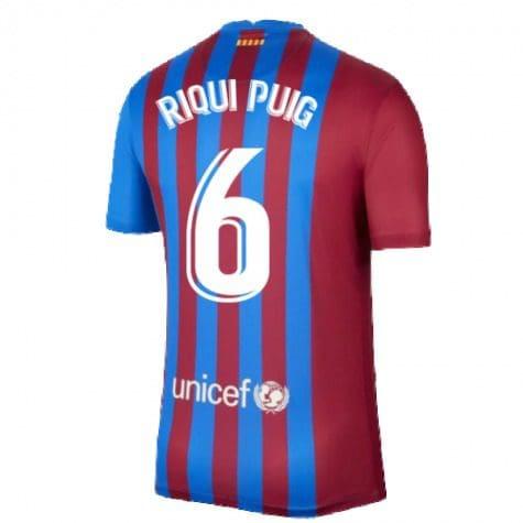 Футболка Рикард Пуч 6 Барселона 2021-2022