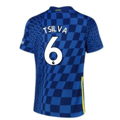 Футболка Тьяго Силва 6 Челси 2021-2022