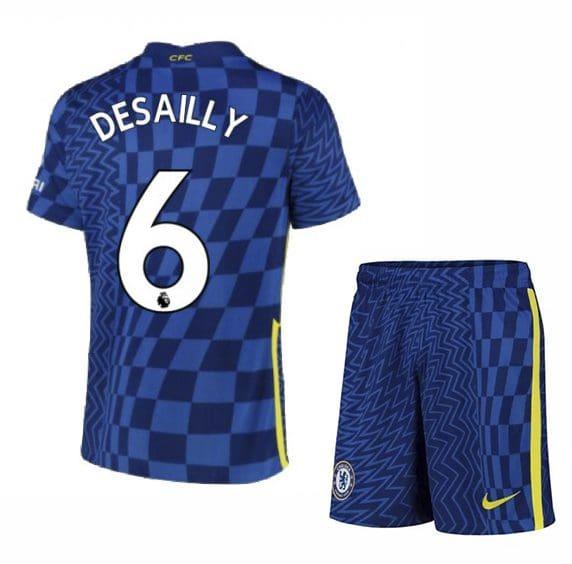 Футбольная форма Десайи 6 Челси 2021-2022