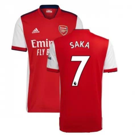 Футболка Сака 7 Арсенал 2021-2022