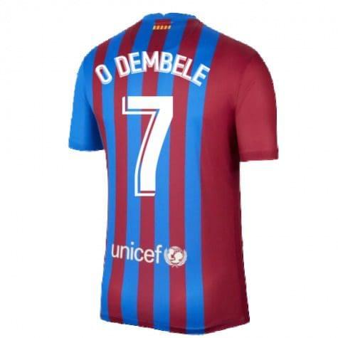 Футболка Дембеле 7 Барселона 2021-2022