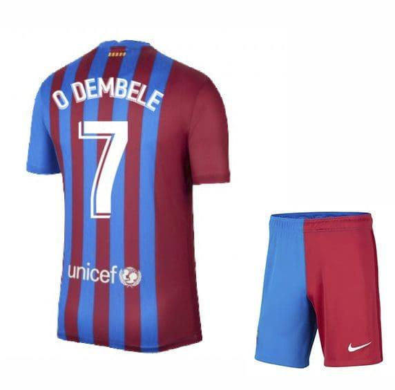 Футбольная форма Дембеле 7 Барселона 2021-2022