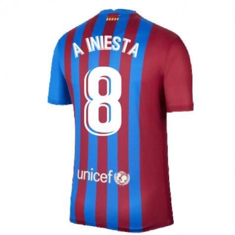 Футболка А Иньеста 8 Барселона 2021-2022