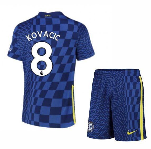 Футбольная форма Ковачич 8 Челси 2021-2022