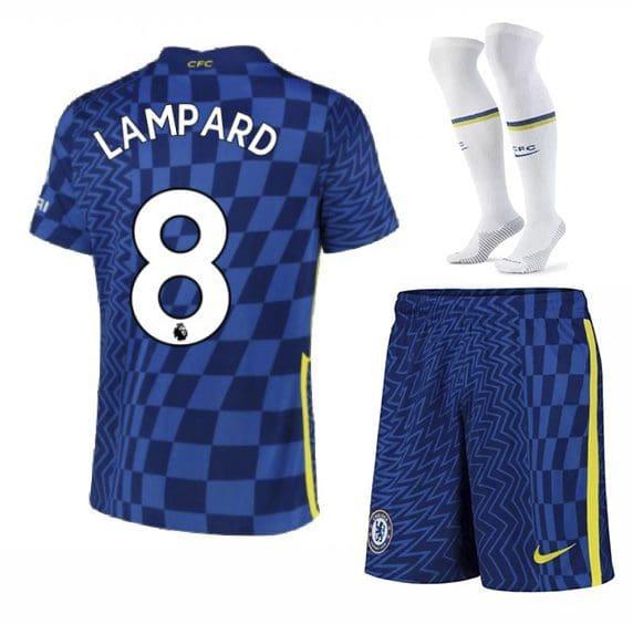 Футбольная форма Лэмпард 8 Челси 2022 с гетрами