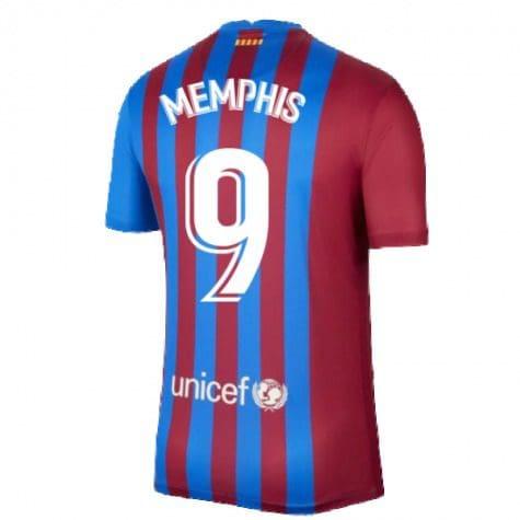 Футболка Мемфис 9 Барселона 2021-2022