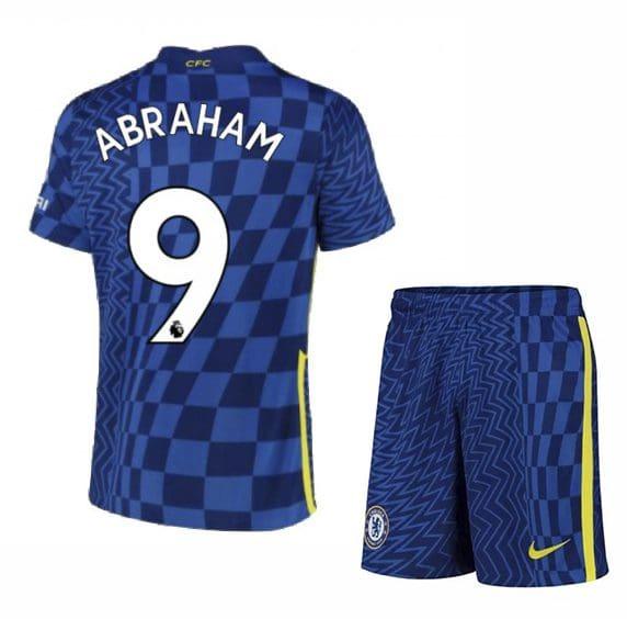 Футбольная форма Абрахам 9 Челси 2021-2022