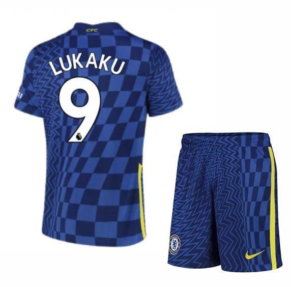 Футбольная форма Лукаку 9 Челси 2021-2022